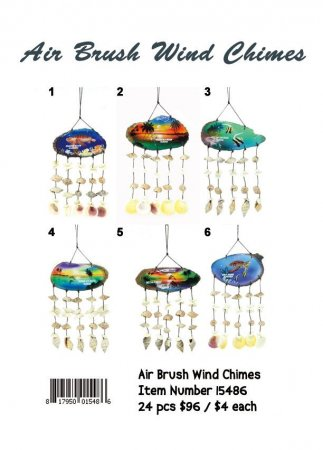 Air Brush Wind Chimes Wholesale
