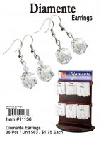 Diamente Earrings Wholesale