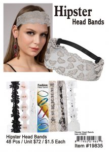 Hipster Head Bands Wholesale