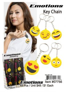 Emotions Key Chains Wholesale