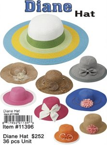 Diane Hats Wholesale