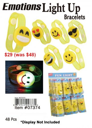 Emotions Lightup Bracelets NOW ON CLEARANCE