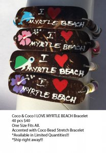 Myrtle Beach Coco Bracelets Wholesale