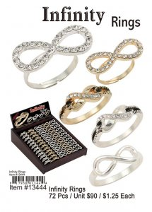 Infinity Rings NOW ON CLEARANCE