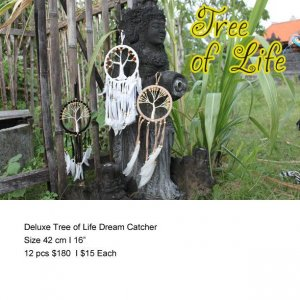 Deluxe Tree Of Life Dream Catcher