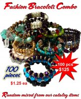 Fashion Bracelets Combo Wholesale - Closeout