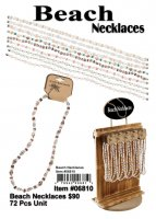 Wholesale Beach Necklaces (72 Pcs unit)