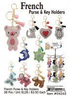 French Purse Key Holders Wholesale