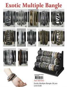 Wholesale Exotic Bangles