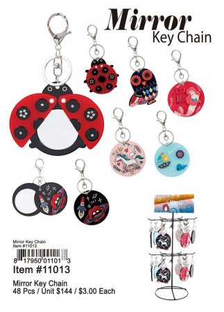 Mirror Key Chains Wholesale