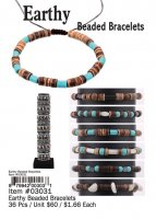 Earthy Beaded Bracelets Wholesale