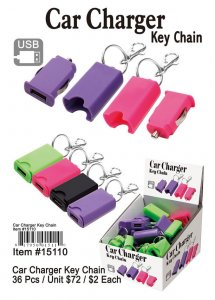 Car Charger Keychains Wholesale