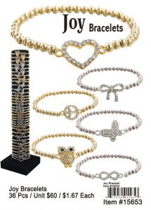 Wholesale Joy Bracelets NOW ON CLEARANCE
