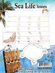 Wholesale Sea Life Anklets
