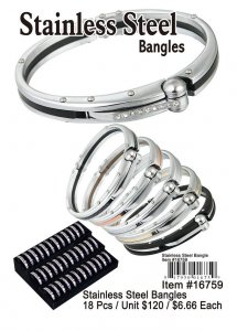 Stainless Steel Bangles Wholesale