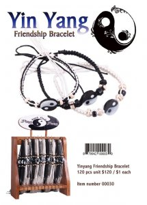 Yinyang Friendship Bracelet wholesale