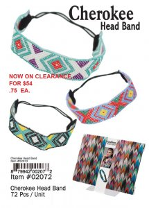 Cherokee Head BandS NOW ON CLEARANCE