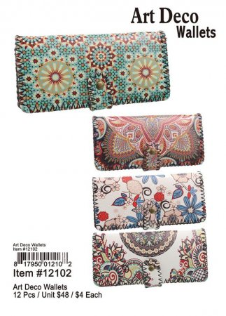 Art Deco Wallets Wholesale
