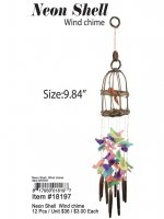 Neon Shell Wind Chime Wholesale