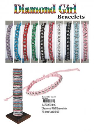 Wholesale Bracelet Diamond Girl