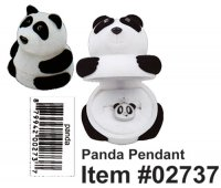 Cuties Panda Pendant (12 Pcs Pack)