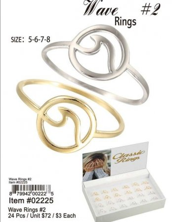 Wave Rings Wholesale
