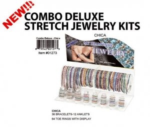 Wholesale Combo Crystal Stretch Kits-Chica