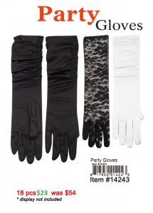 Party Gloves NOW ON CLEARANCE