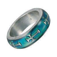 Wholesale Mood Rings - Style 28 - Cross