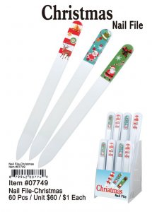 Christmas Nail File Wholesale