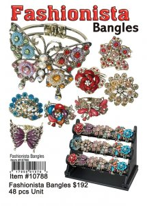 Wholesale Fashionista Bangles Wholesale