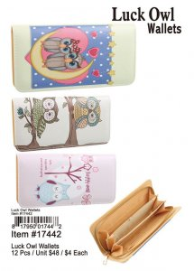 Luck Owl Wallets Wholesale