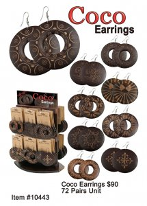 Coco Earrings Wholesale