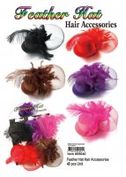 Wholesale Feather Hat Hair Accessories