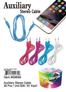 Auxilary Audio Cables Wholesale