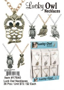 Lucky Owl Necklaces NOW ON CLEARANCE