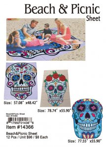 Beach And Picnic Sheet Wholesale