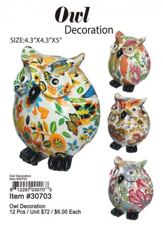 Owl Decoration Wholesale