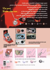 Wholesale Love Pearl (Counter Top)- 36 Pieces Assorted Colors