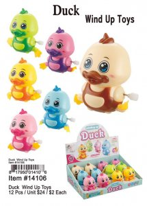 Duck Wind Up Toys Wholesale