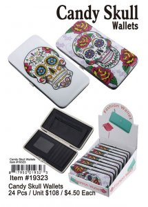Candy Skull Wallets Wholesale