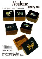 Abalone Jewelry Boxes Wholesale