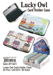 Lucky Owl Card Holders Wholesale