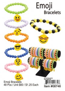 Emoji Bracelets Wholesale NOW ON CLEARANCE