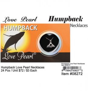 Love Pearl Humpback Necklaces Wholesale