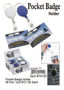 Pocket Badge Holder Wholesale