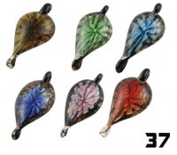 Wholesale Murano Glass Pendants #37 - BOXED