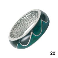 Wholesale Mood Rings - Style 22 - Wavy Shapes