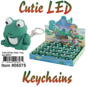 Wholesale Cuties Led Key chains FROG