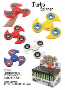 Turbo Hand Spinners Wholesale